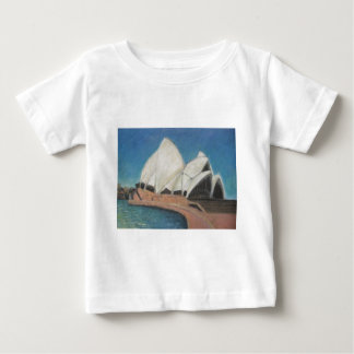 Sydney Opera House 2009, Acrylic on Canvas 31cm by Baby T-Shirt
