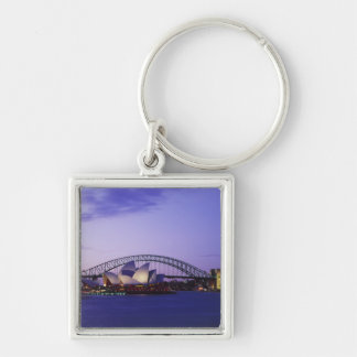 Sydney Opera House and Harbour, New South 2 Keychain