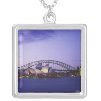 Sydney Opera House and Harbour New South 2 Necklace