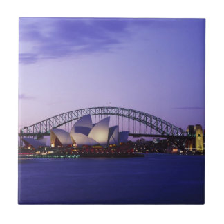 Sydney Opera House and Harbour, New South 2 Tile