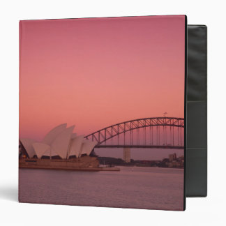 Sydney Opera House and Harbour, New South 3 Ring Binder