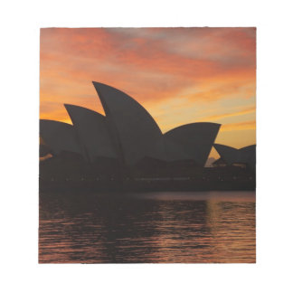 Sydney Opera House at Dawn, Sydney, New South Memo Note Pads