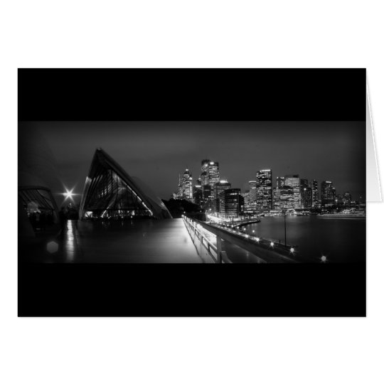 Sydney Opera House at Night Card