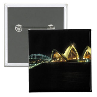 Sydney Opera House at night, New South Wales, 2 Button