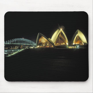 Sydney Opera House at night, New South Wales, 2 Mouse Pad