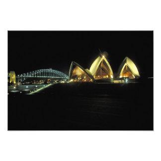 Sydney Opera House at night, New South Wales, 2 Art Photo