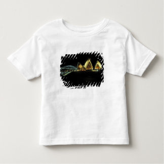 Sydney Opera House at night, New South Wales, 2 Toddler T-shirt