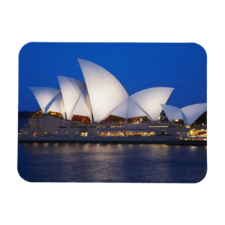 Sydney Opera House at Night, Sydney, New South Magnet