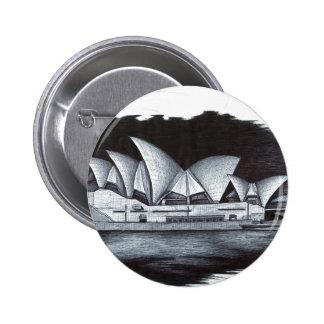 Sydney Opera House (Australia) Buttons