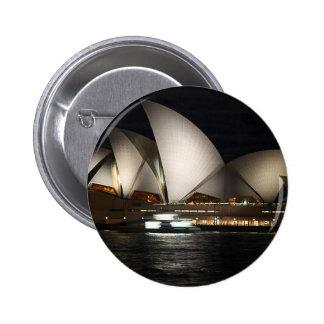 Sydney Opera House Australia Pinback Button