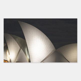 Sydney Opera House Australia Rectangular Sticker
