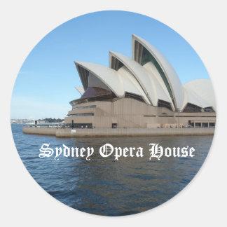 Sydney Opera House - Australia - Travel Classic Round Sticker
