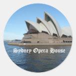 Sydney Opera House - Australia - Travel Round Sticker