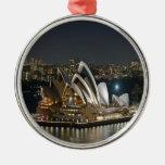 Sydney Opera House beauty and peace Christmas Tree Ornaments