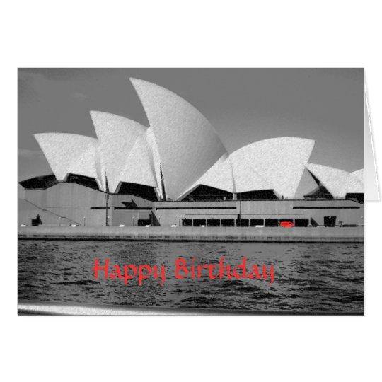 Sydney Opera House birthday card (r)