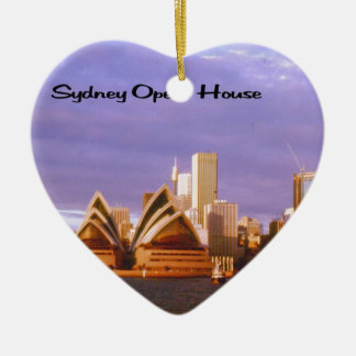 Sydney Opera House Ceramic Ornament