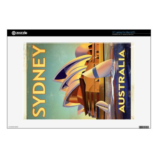 Sydney Opera house Decal For Laptop