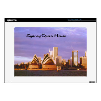 "Sydney Opera House Decals For 15"" Laptops"