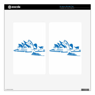 Sydney Opera House Decals For Kindle Fire