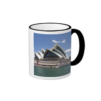 Sydney Opera House exterior, Sydney, New South Ringer Coffee Mug