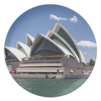 Sydney Opera House exterior, Sydney, New South Plate