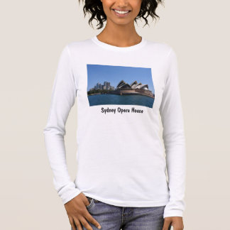 Sydney Opera House Fine Jersey Long Sleeve T-Shirt