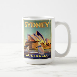 Sydney Opera house from the harbor Mugs