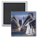 Sydney Opera House from the Harbor, New South Wale Refrigerator Magnet