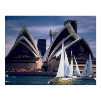 Sydney Opera House from the Harbor, New South Wale Postcard