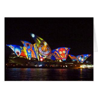 sydney opera house fun card