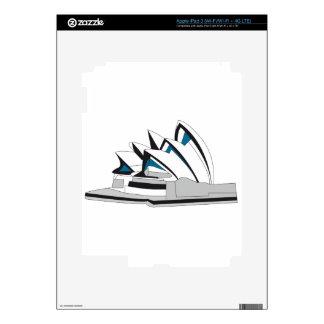 Sydney Opera House iPad 3 Decal