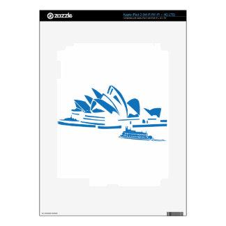 Sydney Opera House iPad 3 Decals