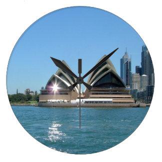 Sydney Opera House Large Clock
