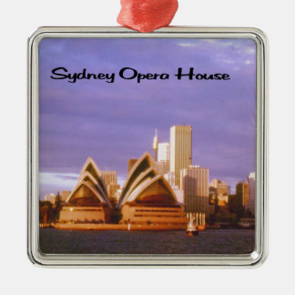 Sydney Opera House Metal Ornament