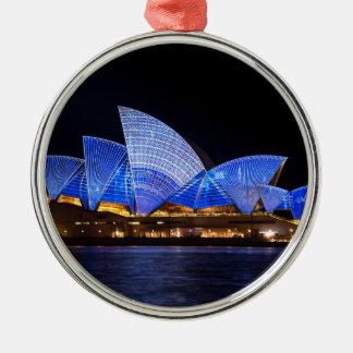 Sydney Opera House Metal Ornament