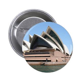 Sydney Opera House, New South Wales, Australia Pinback Buttons