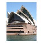 Sydney Opera House, New South Wales, Australia Letterhead Template
