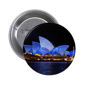 Sydney Opera House Pinback Button