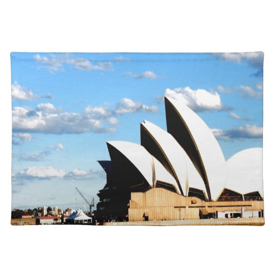 sydney opera house placemat
