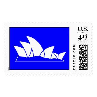 Sydney Opera House Postage Stamps
