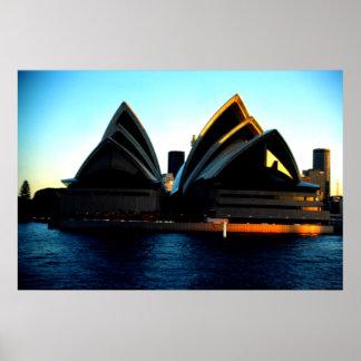 , Sydney Opera House Poster