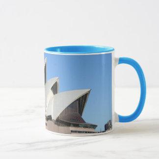 Sydney Opera House Ringer Mug