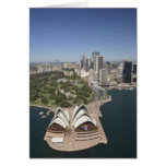 Sydney Opera House, Royal Botanic Gardens, CBD Greeting Card