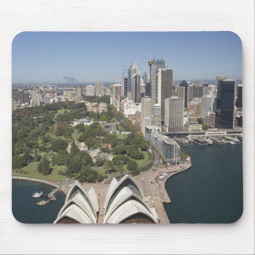 Sydney Opera House, Royal Botanic Gardens, CBD Mouse Pad