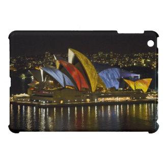 Sydney Opera House - Sydney Vivid Festival - Color iPad Mini Cases