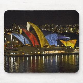 Sydney Opera House - Sydney Vivid Festival - Color Mouse Pad