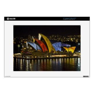 "Sydney Opera House - Sydney Vivid Festival - Color Skins For 15"" Laptops"