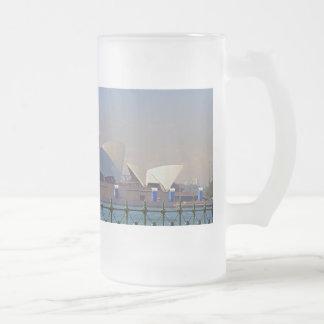 Sydney Opera House with Fence Mug