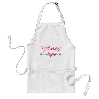 Sydney Pink BUtterfly Apron
