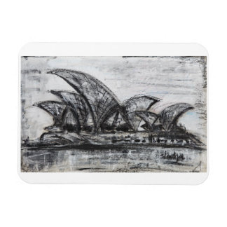 Sydney Rectangular Photo Magnet